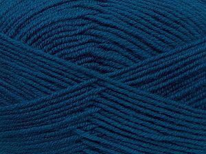 Contenido de fibra 60% Lana Merino, 40% Acrílico, Teal, Brand Ice Yarns, fnt2-69704