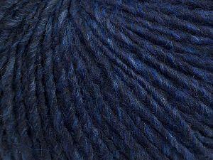 Fiber Content 50% Wool, 30% Acrylic, 20% Alpaca, Purple, Brand Ice Yarns, Blue, Black, fnt2-69725
