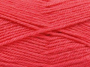 Fiber Content 50% Wool, 50% Acrylic, Brand Ice Yarns, Candy Pink, fnt2-69729