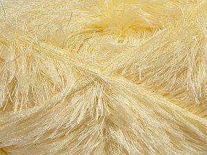 Fiber Content 100% Polyester, Brand Ice Yarns, Cream, fnt2-69730