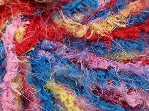 Fiber Content 100% Polyamide, Yellow, White, Purple, Brand Ice Yarns, Burgundy, Blue, fnt2-69732