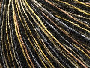 İçerik 69% Akrilik, 16% Yün, 14% Polyamid, 1% Elastan, Yellow, Brand Ice Yarns, Grey, Gold, Black, fnt2-69759