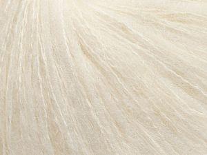 Fiber Content 75% Polyamide, 25% Kid Mohair, White, Brand Ice Yarns, fnt2-69762