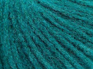 Fiber Content 36% Polyamide, 31% Extrafine Merino Wool, 30% Baby Alpaca, 3% Elastan, Brand Ice Yarns, Emerald Green, fnt2-69875