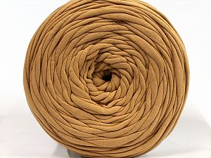 Make handbags,rugs,basket and cushion covers with this genius new-fashion yarn!<p>Since the yarn is made by upcycling fabrics, and because of the nature of the yarn; take the following notes into consideration. </p><ul><li>Fiber content information may vary. Information given about fiber content is approximate. </li><li>The yardage and weight information of the yarn is approximate. </li></ul> Fiber Content 95% Cotton, 5% Elastan, Milky Brown, Brand Ice Yarns, fnt2-69909