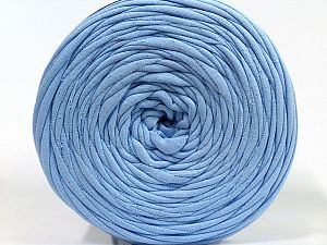 Make handbags,rugs,basket and cushion covers with this genius new-fashion yarn!<p>Since the yarn is made by upcycling fabrics, and because of the nature of the yarn; take the following notes into consideration. </p><ul><li>Fiber content information may vary. Information given about fiber content is approximate. </li><li>The yardage and weight information of the yarn is approximate. </li></ul> Fiber Content 95% Cotton, 5% Elastan, Light Blue, Brand Ice Yarns, fnt2-69921