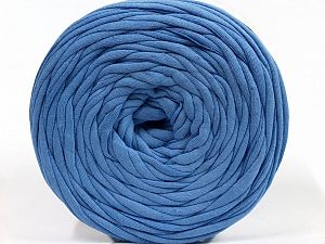 Make handbags,rugs,basket and cushion covers with this genius new-fashion yarn!<p>Since the yarn is made by upcycling fabrics, and because of the nature of the yarn; take the following notes into consideration. </p><ul><li>Fiber content information may vary. Information given about fiber content is approximate. </li><li>The yardage and weight information of the yarn is approximate. </li></ul> Fiber Content 95% Cotton, 5% Elastan, Brand Ice Yarns, Blue, fnt2-69922
