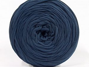 Make handbags,rugs,basket and cushion covers with this genius new-fashion yarn!<p>Since the yarn is made by upcycling fabrics, and because of the nature of the yarn; take the following notes into consideration. </p><ul><li>Fiber content information may vary. Information given about fiber content is approximate. </li><li>The yardage and weight information of the yarn is approximate. </li></ul> Fiber Content 95% Cotton, 5% Elastan, Navy, Brand Ice Yarns, fnt2-69927