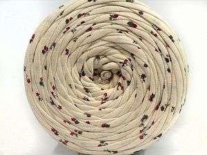 Make handbags,rugs,basket and cushion covers with this genius new-fashion yarn!<p>Since the yarn is made by upcycling fabrics, and because of the nature of the yarn; take the following notes into consideration. </p><ul><li>Fiber content information may vary. Information given about fiber content is approximate. </li><li>The yardage and weight information of the yarn is approximate. </li></ul> Fiber Content 95% Cotton, 5% Elastan, Brand Ice Yarns, Cream, fnt2-69942