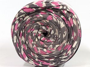 Make handbags,rugs,basket and cushion covers with this genius new-fashion yarn!<p>Since the yarn is made by upcycling fabrics, and because of the nature of the yarn; take the following notes into consideration. </p><ul><li>Fiber content information may vary. Information given about fiber content is approximate. </li><li>The yardage and weight information of the yarn is approximate. </li></ul> Fiber Content 95% Cotton, 5% Elastan, White, Pink, Brand Ice Yarns, Grey, fnt2-69948
