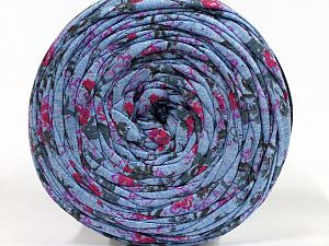 Make handbags,rugs,basket and cushion covers with this genius new-fashion yarn!<p>Since the yarn is made by upcycling fabrics, and because of the nature of the yarn; take the following notes into consideration. </p><ul><li>Fiber content information may vary. Information given about fiber content is approximate. </li><li>The yardage and weight information of the yarn is approximate. </li></ul> Fiber Content 95% Cotton, 5% Elastan, Brand Ice Yarns, Blue, fnt2-69974