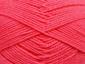 Worsted Fiber Content 100% Acrylic, Brand Ice Yarns, Candy Pink, fnt2-69998
