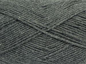 Fiber Content 100% Acrylic, Brand Ice Yarns, Grey, fnt2-70001