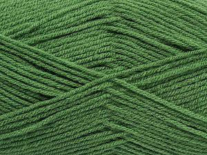 Fiber Content 100% Acrylic, Brand Ice Yarns, Green, fnt2-70010