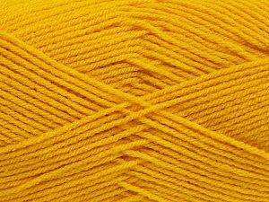 Fiber Content 100% Acrylic, Brand Ice Yarns, Dark Yellow, fnt2-70016
