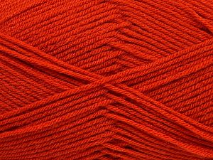 Fiber Content 100% Acrylic, Brand Ice Yarns, Dark Orange, fnt2-70019