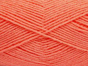 Fiber Content 100% Acrylic, Salmon, Brand Ice Yarns, fnt2-70023