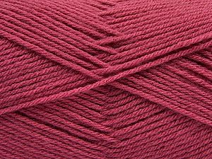 Fiber Content 100% Acrylic, Orchid, Brand Ice Yarns, Yarn Thickness 3 Light DK, Light, Worsted, fnt2-70030