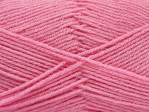 Fiber Content 100% Acrylic, Pink, Brand Ice Yarns, Yarn Thickness 3 Light DK, Light, Worsted, fnt2-70032