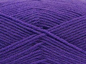 Fiber Content 100% Acrylic, Purple, Brand Ice Yarns, Yarn Thickness 3 Light DK, Light, Worsted, fnt2-70036