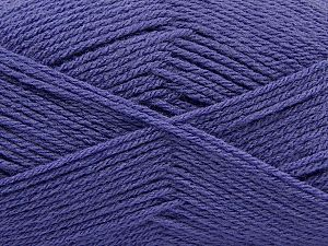 Fiber Content 100% Acrylic, Lavender, Brand Ice Yarns, Yarn Thickness 3 Light DK, Light, Worsted, fnt2-70037