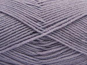 Fiber Content 100% Acrylic, Light Lavender, Brand Ice Yarns, Yarn Thickness 3 Light DK, Light, Worsted, fnt2-70041
