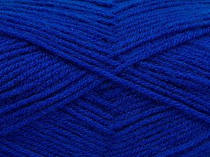 Fiber Content 100% Acrylic, Saxe Blue, Brand Ice Yarns, Yarn Thickness 3 Light DK, Light, Worsted, fnt2-70042