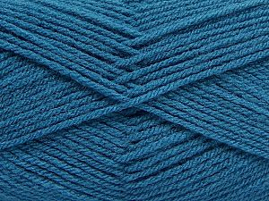 Fiber Content 100% Acrylic, Turquoise, Brand Ice Yarns, Yarn Thickness 3 Light DK, Light, Worsted, fnt2-70045