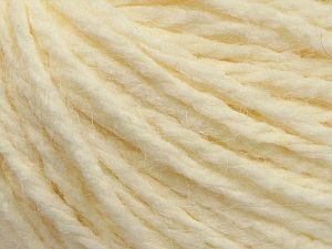 Fiber Content 80% Acrylic, 10% Polyester, 10% Wool, Brand Ice Yarns, Cream, fnt2-70064