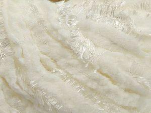 Fiber Content 65% Polyester, 35% Nylon, White, Brand Ice Yarns, fnt2-70065