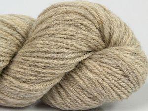 Fiber Content 55% Baby Alpaca, 45% Superwash Extrafine Merino Wool, Light Grey, Brand Ice Yarns, fnt2-70105