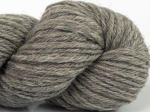 Fiber Content 55% Baby Alpaca, 45% Superwash Extrafine Merino Wool, Brand Ice Yarns, Grey, fnt2-70106