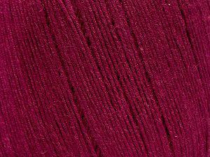 Fiber Content 50% Viscose, 50% Linen, Brand Ice Yarns, Burgundy, fnt2-70129