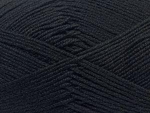 Fiber Content 60% Bamboo, 40% Polyamide, Brand Ice Yarns, Black, fnt2-70144