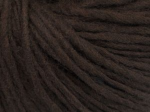 Fiber Content 50% Wool, 50% Acrylic, Brand Ice Yarns, Dark Brown, fnt2-70163