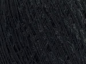 Trellis Fiber Content 100% Polyester, Brand Ice Yarns, Black, fnt2-70281