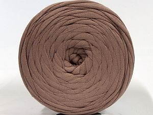 Make handbags,rugs,basket and cushion covers with this genius new-fashion yarn!<p>Since the yarn is made by upcycling fabrics, and because of the nature of the yarn; take the following notes into consideration. </p><ul><li>Fiber content information may vary. Information given about fiber content is approximate. </li><li>The yardage and weight information of the yarn is approximate. </li></ul> Fiber Content 95% Cotton, 5% Elastan, Light Brown, Brand Ice Yarns, fnt2-70319