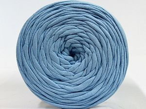 Make handbags,rugs,basket and cushion covers with this genius new-fashion yarn!<p>Since the yarn is made by upcycling fabrics, and because of the nature of the yarn; take the following notes into consideration. </p><ul><li>Fiber content information may vary. Information given about fiber content is approximate. </li><li>The yardage and weight information of the yarn is approximate. </li></ul> Fiber Content 95% Cotton, 5% Elastan, Light Blue, Brand Ice Yarns, fnt2-70320