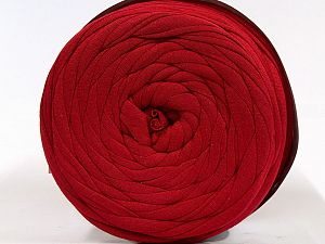 Make handbags,rugs,basket and cushion covers with this genius new-fashion yarn!<p>Since the yarn is made by upcycling fabrics, and because of the nature of the yarn; take the following notes into consideration. </p><ul><li>Fiber content information may vary. Information given about fiber content is approximate. </li><li>The yardage and weight information of the yarn is approximate. </li></ul> Fiber Content 95% Cotton, 5% Elastan, Red, Brand Ice Yarns, fnt2-70322