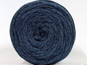 Make handbags,rugs,basket and cushion covers with this genius new-fashion yarn!<p>Since the yarn is made by upcycling fabrics, and because of the nature of the yarn; take the following notes into consideration. </p><ul><li>Fiber content information may vary. Information given about fiber content is approximate. </li><li>The yardage and weight information of the yarn is approximate. </li></ul> Fiber Content 95% Cotton, 5% Elastan, White, Brand Ice Yarns, Blue, fnt2-70337