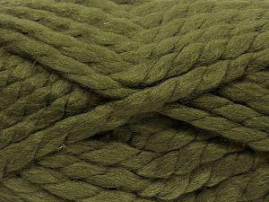 Contenido de fibra 75% Acrílico, 25% Lana, Brand Ice Yarns, Green, fnt2-70358