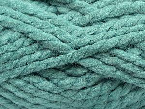 Contenido de fibra 75% Acrílico, 25% Lana, Light Emerald Green, Brand Ice Yarns, fnt2-70361