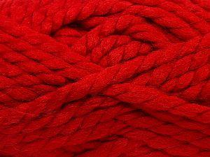 Contenido de fibra 75% Acrílico, 25% Lana, Red, Brand Ice Yarns, fnt2-70362