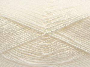 Fiber Content 100% Antibacterial Acrylic, White, Brand Ice Yarns, fnt2-70364
