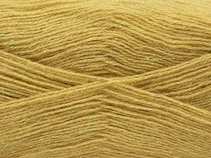 Fiber Content 75% Acrylic, 5% Lurex, 10% Wool, 10% Mohair, Light Olive Green, Brand Ice Yarns, fnt2-70393