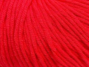 Fiber Content 50% Cotton, 50% Acrylic, Neon Pink, Brand Ice Yarns, fnt2-70452
