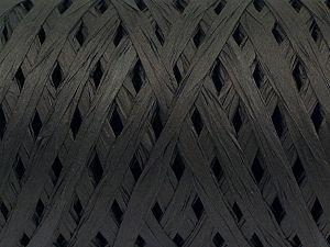 Fiber Content 100% Viscose, Brand Ice Yarns, Black, fnt2-70579