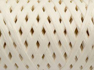 Fiber Content 100% Viscose, White, Brand Ice Yarns, fnt2-70580