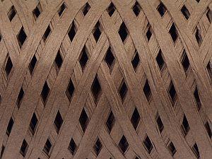 Fiber Content 100% Viscose, Brand Ice Yarns, Dark Brown, fnt2-70589