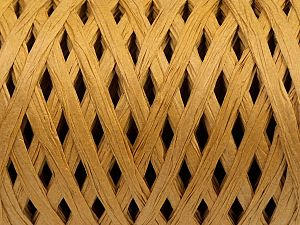 Fiber Content 100% Viscose, Brand Ice Yarns, Gold, fnt2-70591